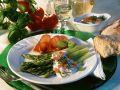Green Asparagus with Ricotta Cream recipe