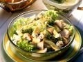 Green Salad with Fried Chicken Breast recipe
