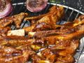Grilled Barbecued Pork Ribs recipe