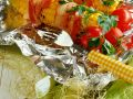 Grilled Corn on the Cob with Bacon recipe