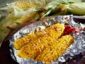 Grilled Corn on the Cob with Red Chile and Garlic recipe