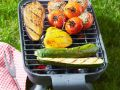 Grilled Eggplant, Peppers, Summer Squash and Tomatoes recipe