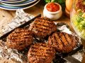 Grilled Meat Patties with Tomato Sauce recipe