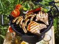 Grilled Meat, Sausages and Vegetables recipe