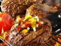 Meat Patties with Chopped Salad recipe