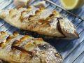 Grilled Sea Bream with Garlic recipe