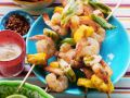 Grilled Shrimp and Pineapple Skewers recipe
