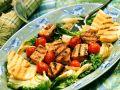 Grilled Swordfish with Polenta recipe
