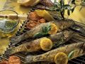 Grilled Trout Stuffed with Herbs and Lemon recipe