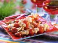 Grilled Turkey and Tomato Skewers recipe