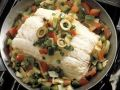 Halibut with Vegetables recipe