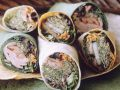 Ham and Vegetable Wraps recipe
