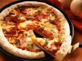 Ham Pizza with Peppers recipe