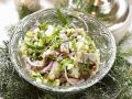 Herring Salad with Apple and Cucumber recipe