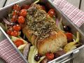 Italian Roast Pork with with Vegetables and Herbs recipe