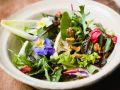 Leafy Green Salad with Mushrooms recipe