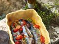 Mackerel with Tomatoes recipe