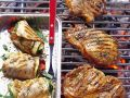Marinated Steaks and Chicken Roulades recipe