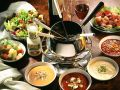 Meat Fondue with Dipping Sauces recipe