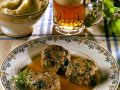 Meatballs with Mashed Potatoes and Sauce recipe