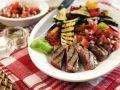 Med-style Charred Steak recipe