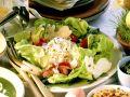Mixed Green Salad with Yogurt Dressing recipe