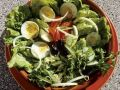 Mixed Salad with Eggs recipe