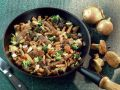 Mushroom Pan with Lamb Fillet recipe