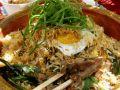 Nasi Goreng with Pork Strips recipe
