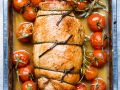 Olive, Caper and Anchovy Stuffed Turkey Breast recipe