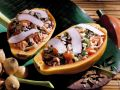 Papaya Stuffed with Coconut Rice recipe