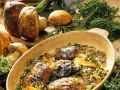 Parmesan Herb Baked Mushrooms recipe