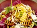 Pasta with Grilled Apple Slices and Gorgonzola recipe