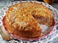 Pear Cake with Nuts recipe