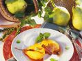 Pears with Quince Syrup recipe