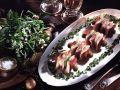 Pickled Herring and Bell Pepper Skewers recipe