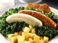 Pinkel Sausages with Kale recipe