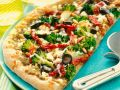 Pizza with Broccoli, Tuna and Sun-dried Tomatoes recipe