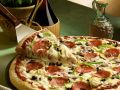 Pizza with Cheese and Sausage recipe
