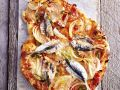 Pizza with Sardines and Onions recipe