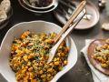 Pumpkin Salad with Lentils and Mango recipe
