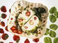 Quark Terrine with Strawberries and Pistachios recipe