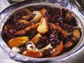 Red Cabbage Stew with Cider, Apples and Pancetta recipe