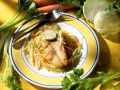 Redfish Fillet with Vegetable Strips recipe