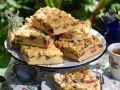Rhubarb Cake with Streusel recipe