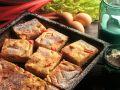 Rhubarb Pie with Quark Custard recipe