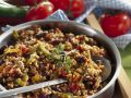Rice and Beans Pan with Beef recipe