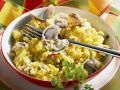 Risotto Milanese with Clams recipe