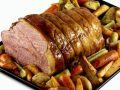 Roast Beef over Roasted Vegetables recipe