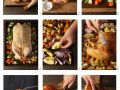 Roast Duck with Apples and Red Onions recipe